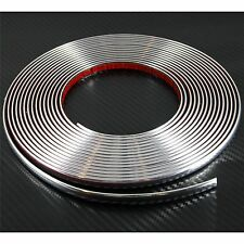 (0.9cm) 9mm x 2m CHROME CAR STYLING MOULDING STRIP For Peugeot 405 406 407