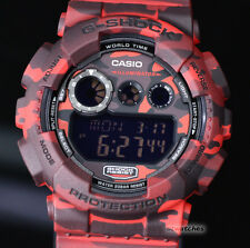 CASIO G-SHOCK MENS WATCH GD-120CM-4 FREE EXPRESS CAMOUFLAGE RED GD-120CM-4DR