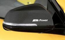 6x BMW /// M Power Aufkleber Sticker E90 E60 F20 F10 F01 E70 F30 M3 X3 X5...