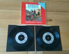 """Rainmakers Let My People Go-Go 1986 UK Double 7"""" In Folder MERD238 Alt Rock"""