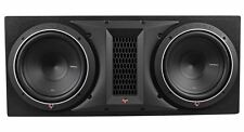 "Rockford Fosgate Punch P1-2X10 Dual 10"" 1000W Loaded Subwoofer+Sub Enclosure Box"
