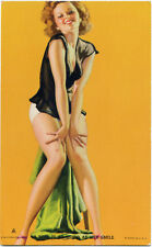 A MISS IS AS GOOD AS HER SMILE Moran PIN-UP Mutoscope Card RARE (1940's) HOTCHA