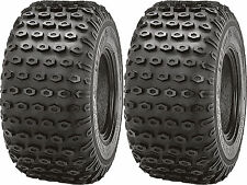Pair 2 Kenda Scorpion 25x12-9 ATV Tire Set 25x12x9 K290 25-12-9