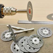 Steel Rotary Tool Circular Saw Blades Cutting Wheel Discs Mandrel Cutoff