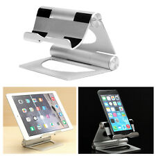 Solid Aluminum Folding Stand Holder for iPhone/iPad/ipad air,Samsung,Tablet,Sony