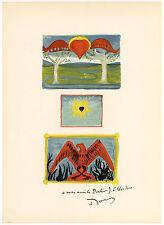 """Andre Derain lithograph """"Au Jardin d'Allah"""""""