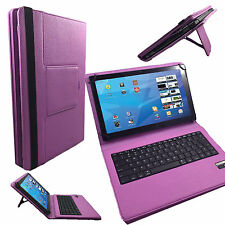 Bluetooth Tablet Tasche Samsung Galaxy Tab A 7.0 (2016) Tastatur Keyboard Lila 7