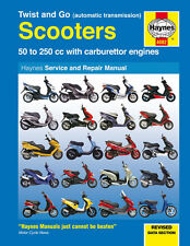 Haynes Manual 4082 - Aprilia SR50, Rally 50, Sonic, Leonardo 125  Service/Repair