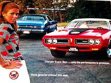 1971 Dodge Charger Rt/Challenger Ta/Demon 340 Super Bee 383 Magnum V8 Engine/vtg