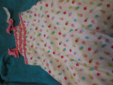 NWT Gymboree Ice Cream Social Pink & White Ice Cream Cone Dress! Sweet! 5T HTF