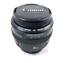 Canon EF 50mm f/1.4 USM Prime Lens For Canon - Excellent Condition!