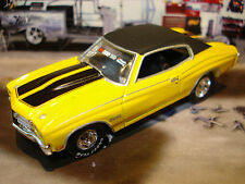 100% HOT WHEELS 1970 CHEVROLET CHEVELLE SS 454 COUPE LIMITED EDITION 1/64 RACER