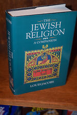 THE JEWISH RELIGION by Louis Jacobs 1st Edition Hardcover 1995 BRAND NEW UNREAD
