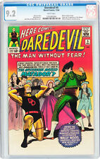 Daredevil #5 CGC 9.2 Marvel 1964 Netflix! TV Show! WHITE pages! E12 124 cm