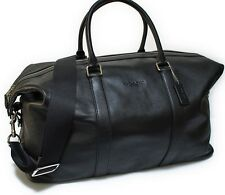 NWT Coach Voyager Bag In Sport Calf Leather Duffle 52 Travel Bag Black F54802