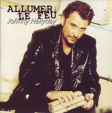 ★☆★ CD Single Johnny HALLYDAY Allumer le feu 2-track CARD SLEEVE NEUF  ★☆★