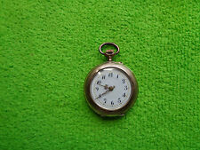 GOLD POCKET WATCH LADY 9 K CT NOT WORKING SPARES REPAIR