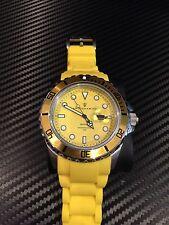 sottomarino  Men's 52mm yellow watch