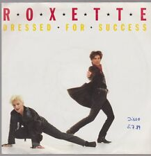 "7"" Roxette Dressed For Success / The Voice 80`s EMI Parlophone"