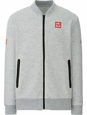 UNIQLO x Novak Djokovic 2017 Australian Open L Track Warm-Up Jacket Stretch NEW!