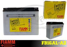 FB16AL-A2 BATTERIA MOTO FIAMM MOTOR ENERGY YUASA YB16AL-A2 16Ah 180A + LIQUIDO