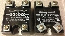 control solid state relay 240D10-17, Lot Of 2, Shipsameday #1326K