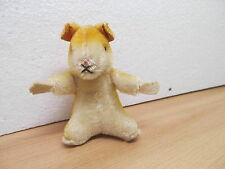 MES-33847 Steiff Hamster mit Knopf H:ca.10,5cm,Mohair mit Holzwollstopfung,