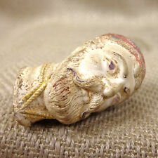 Antique  Clay Pipe Bowl 19thC Victorian Figural Ottoman Turkish Male Head Bust