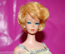 Vintage Blonde Bubble Cut Barbie Doll original Sweet Dreams outfit #973 No green