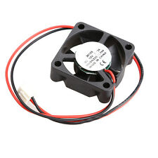 DC 12V Mini Brushless Cooler Cooling Fan Radiator 30x30x10mm 2-Pin 5-Blade Mute