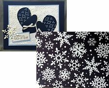 Snowflake Embossing Folder WINTER FLURRY TEEF10 Taylored Expressions Holidays