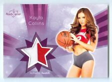 "KAYLA COLLINS ""2 COLOR SWATCH CARD"" BENCHWARMER SIGNATURE SERIES 2015"