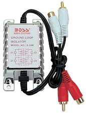 NEW BOSS B25N 12V CAR AUDIO AMPLIFIER RCA NOISE ELIMINATOR GROUND LOOP ISOLATOR