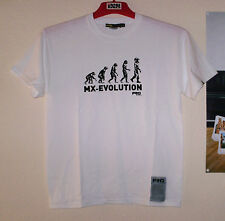 FRO Systems T-Shirt Tee MX Evolution Weiß Freeride MX Cross Motiv L Thor Ufo FLY