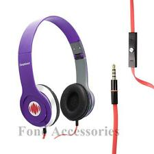 DEEPBASS Cuffie Auricolari per DVD MP4 MP3 IPOD IPHONE LAPTOP TABLET VIOLA