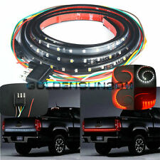"1x 60"" Truck SUV Tailgate LED Light Bar Turn Signal Brake Reverse Back Up Light"