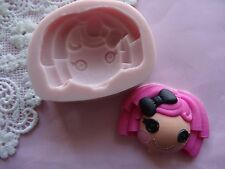 Lalaloopsy doll face silicone mold fondant cake decorating APPROVED FOR FOOD