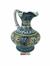 Hand Painted Jug Coimbra Pottery Ceramics Made in Portugal XVII Replica