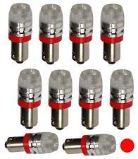 10x ampoule T4W T5W BA9s 12V LED HIGH POWER 1.5W rouge éclairage intérieur