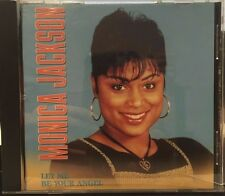 MONICA JACKSON - LET ME BE YOUR ANGEL - 5 TRACK MUSIC CD - LIKE NEW - E797