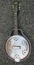 RARE Vintage '30s Harmony Faux Resonator Mandolin ! GREAT CONVERSION POTENTIAL!!