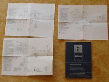 Reparaturanleitung Simson S51 und KR 51/2 Schwalbe 6 Schaltpläne NEU