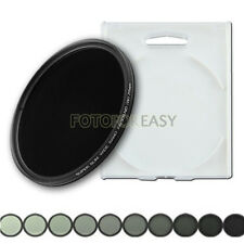 58mm Slim Fader Variable ND Filter ND2 ND4 ND8 ND16 to ND400 Neutral Density 58