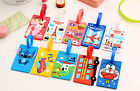 Fashion Cartoon Travel Luggage Tags Baggage Suitcase Bag Labels Name Address