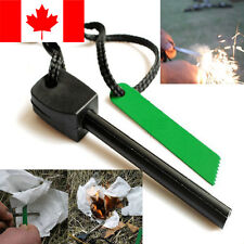 Magnesium Flint Stone Fire Starter Lighter Emergency Survival Camping Gear Kit