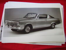 1966 PLYMOUTH BARRACUDA   11 X 17  PHOTO /  PICTURE