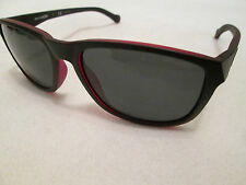 Arnette black / red frame Straight Cut sunglasses.