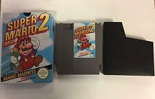 * Nintendo NES Boxed Game * SUPER MARIO BROS 2 * GNVG