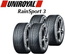 4x Uniroyal RainSport 3 - 205/55 R16 91V (ALL SIZES AVAILABLE)