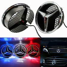 Sport Front LED Ligh Grille Star Emblem For Mercedes Benz 2006-2013 Illuminated